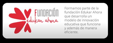 Formamos parte de la fundación Edukar Ahora que desarrolla un modelo de innovación educativa que funciona y además de manera eficiente.